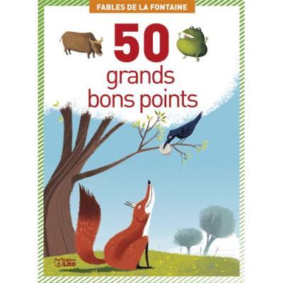 Boîte de 50 grandes images les fables de la Fontaine (photo)