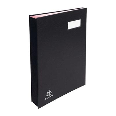 Parapheur Exacompta Manager A4 - 150 feuilles - 20 compartiments - PVC - noir (photo)