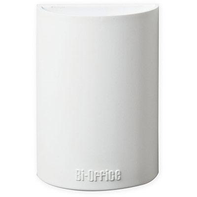 Auget pour tableau blanc - magnétique - blanc - 110 x 75 x 42 mm (photo)