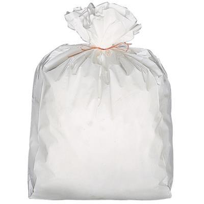 Sacs poubelle plastiques blanc 6 L - carton de 1000 sacs