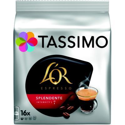Sachet de 16 dosettes pour Tassimo café L'Or Expresso Splendente (photo)