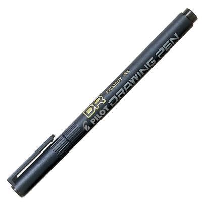 Stylo-feutre Pilot - pointe de 0,5 mm - corps noir - encre noire