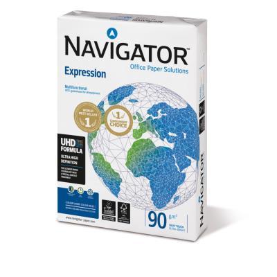Papier Navigator Expression - blanc - A4 - 90 grammes - ramette de 500 feuilles