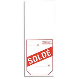 Etiquettes à cheval Avery - pré imprimées soldé - 50x125 mm - boîte de 1000