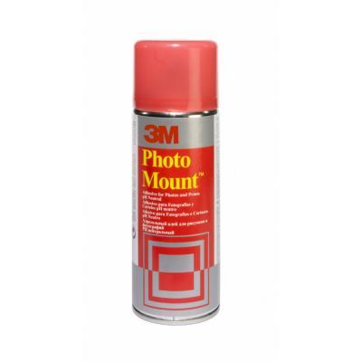 Aérosol de colle Scotch Photo Mount - pour assemblage définitif - 400 ml (photo)