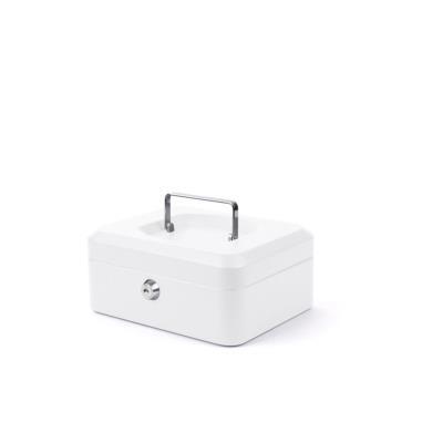 Caissette à monnaie - L. 300 x H. 90 x P. 240 mm - blanc (photo)