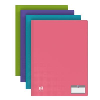 Protège document Elba - en polypropylène memphis - assortis mode - 40 pochettes/80 vues