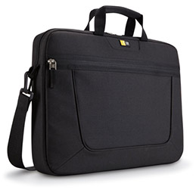 Sacoche classique PC portable de 15 à 16,3 pouces à compartiments - nylon - 44,3x 33,2x 5,5 cm - noir