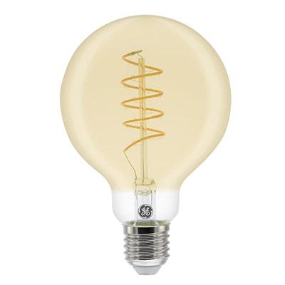 Ampoule LED à filament Globe Vintage 5,5W - culot E27 - 250 lumens - 2000K - classe A (photo)
