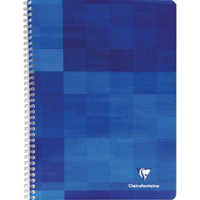 Cahier Clairefontaine Metric - reliure spirales - 21 x 29,7cm - 180 pages - petits carreaux - papier 90g