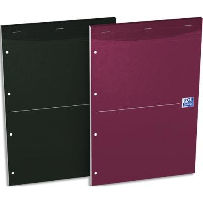 Bloc de direction SOHO de Oxford - A4+ - 160 pages perforées seyès - couvertures assorties (photo)