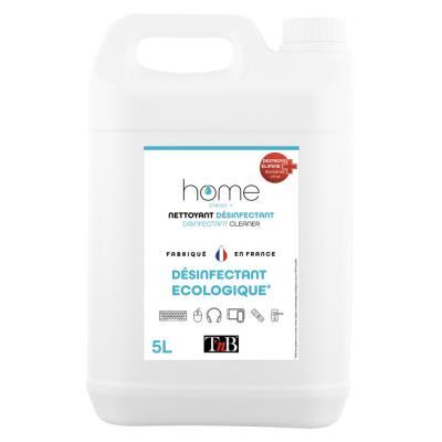 Nettoyant désinfectant multi-usages et écologique DES5L Tnb - bidon de 5 litres (photo)