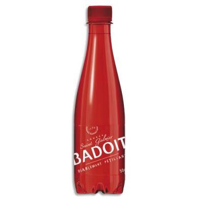 Bouteille eau gazeuse Badoit Rouge - 50 cl (photo)