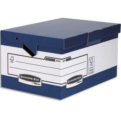 Conteneur ergonomique Bankers Box Heavy Duty - montage automatique