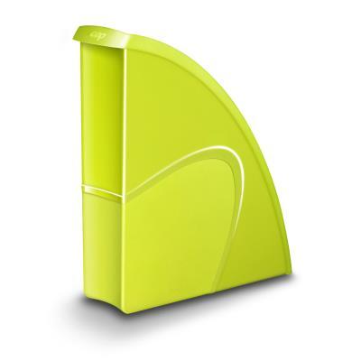 Porte-revues CEP Gloss - dos 8 cm - vert anis