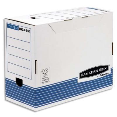 bo te archives en carton recycl fellowes system dos 15 cm montage automatique achat pas. Black Bedroom Furniture Sets. Home Design Ideas