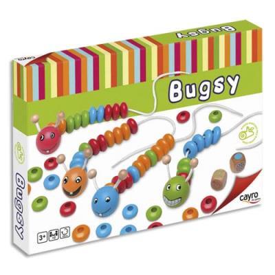 Les chenilles ' Bugsy '. Ce jeu développe l'apprentissage des couleurs et de l'arithmétique (photo)