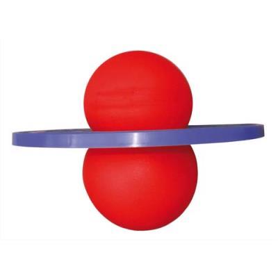 Ballon sauteur très ludique à utiliser debout pour developper l'équilibre et la coordination (photo)