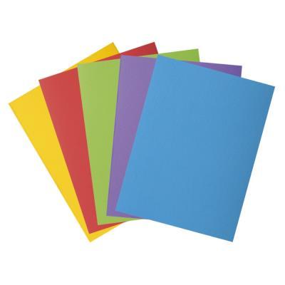 Chemises 2 rabats Exacompta Rock's 250 - carte 210g - 24 x 32 cm - coloris assortis - paquet de 50