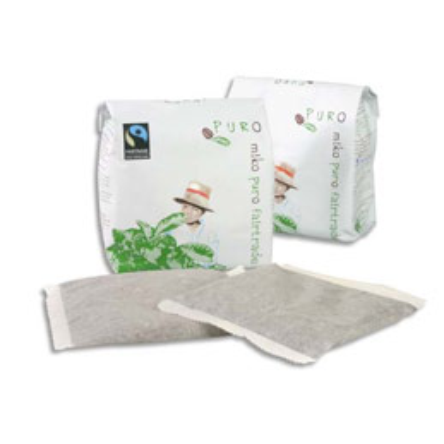 Doses de café Fuerte Puro 80% arabica 20% robusta pour machine Miko Café - carton de 48