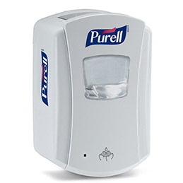 Distributeur de gel hydroalcoolique capacité 700 ml - utilise recharge LTX700 (photo)