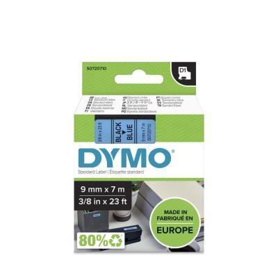 Ruban Dymo D1 - 40916 - Ruban noir/bleu - 9 mm x 7 m