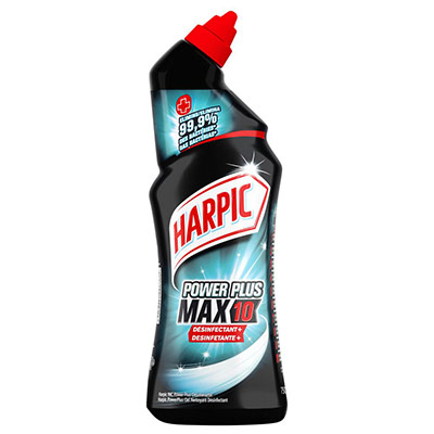 Gel wc Harpic Power Plus surpuissant - désinfectant - 750ml (photo)