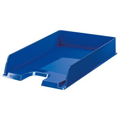 Corbeille à courrier Esselte Europost  - 35 x 6,10 x 25,4 cm - bleu opaque