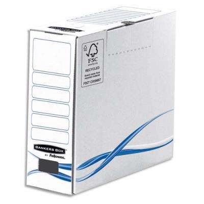 Boîte d'archives Bankers Box® Basic - Format A4+ - Dos de 8 cm (photo)