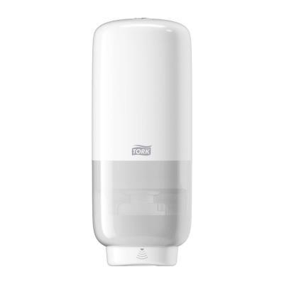 Distributeur de savon mousse S4 - plastique blanc 1L