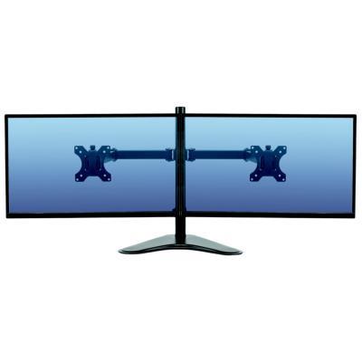 Bras porte écran double horizontal Fellowes Professional Series