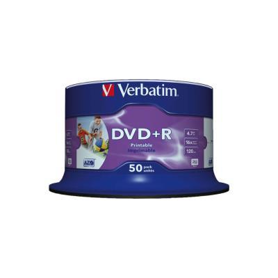 DVD+R vierge Verbatim Azo - 4 -7 Go / 120 min - transfert de données vitesse 16 x - paquet 50 unités