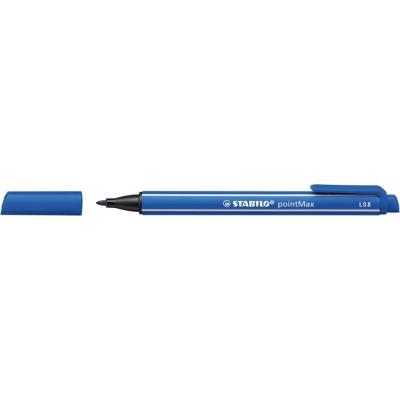 Stylo feutre Stabilo pointMax - pointe multi-fonction - bleu