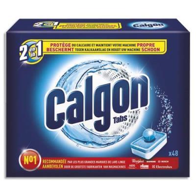 Boite de 48 pastilles anticalcaire Calgonit - 2 en 1 (photo)
