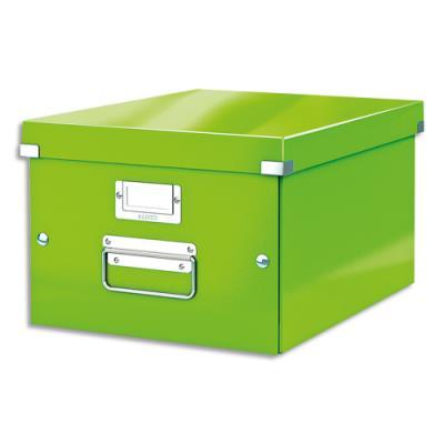 Boîte Leitz Click & Store Taille M - format A4 - capacité 17L - vert