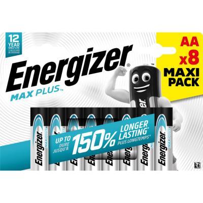 Piles Energizer Max Plus - AA - blister de 8 piles
