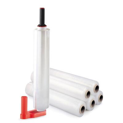 Kit de 6 bobines de film 17 microns 45 cm x 300 m + 1 dérouleur manuel - paquet 6 unités