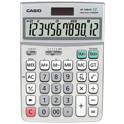 Calculatrice de bureau  DF-120ECO - 12 chiffres (photo)