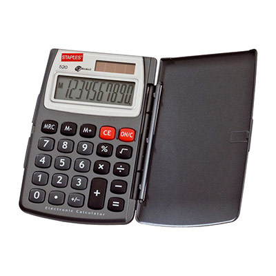 Calculatrice de bureau 520 - 10 chiffres (photo)