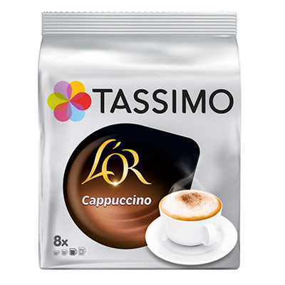 Café Tassimo L'Or Cappuccino - sachet de 8 doses