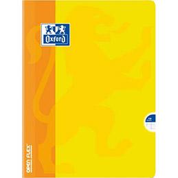 Cahier Oxford Openflex - reliure piqûre - 24x32cm - 140 pages 90g - réglure seyès - Couverture polypro assortie