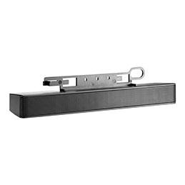 HP LCD Speaker Bar - Haut-parleur - pour EliteDesk 705 G3; MultiSeat t150, t200; ProDesk 400 G4, 600 G3; ProOne 400 G3, 600 G3 (photo)