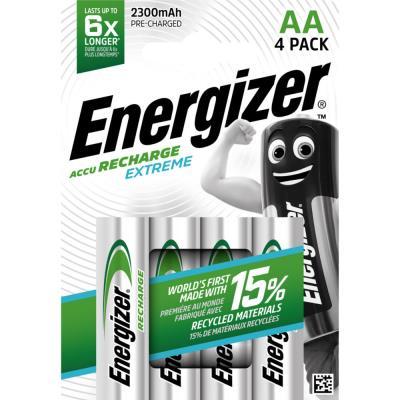 Pile Energizer AA HR6 Extrem - recheargeable - 2300 mAh - blister de 4 piles