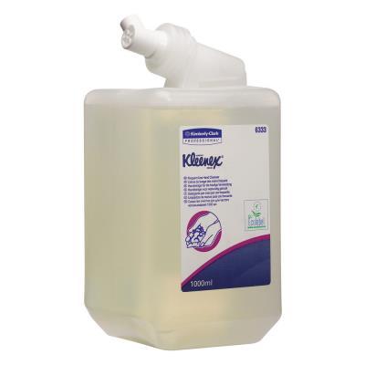 Savon liquide Kleenex - nettoyant pour mains cassette 1 l transparent