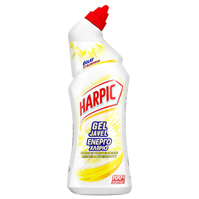 Gel WC Harpic à la javel - parfum frais - 750 ml (photo)