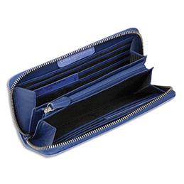 Compagnon Viquel grand modèle 'Marie-Louise' - 19x10,5x2,2 cm - bleu saphir (photo)