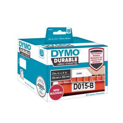 Étiquettes résistantes LW 59 mm x 102 mm - réf Dymo 1933088 - 1 rouleau de 300 Étiquettes - rouleau 300 unités