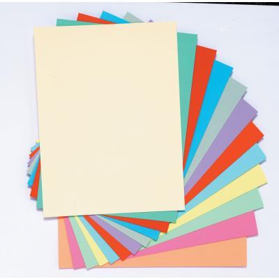 Chemise Exacompta Super 180 - carte 160 g - jaune canari - 24 x 32 cm - paquet de 100