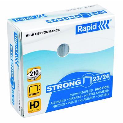 Agrafes Rapid Nº23/24  - capacité d'agrafage 210 feuilles - boîte de 1000