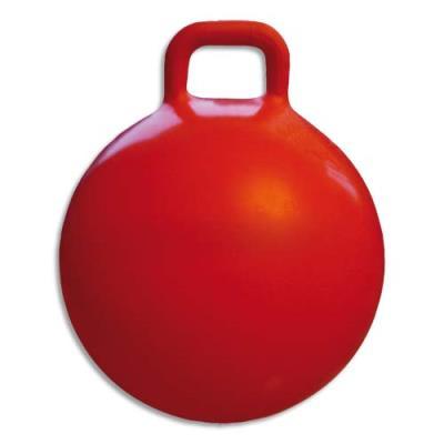 Ballon sauteur diamètre 60 cm avec poignée rodéo, regonflable (photo)